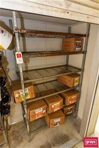 Six tier Cool room rack