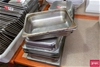 Qty approx 20 x Half size GN Dishes with Lids