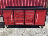 Unused 10 Drawer Work Bench - Brisbane