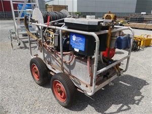 5000Psi Water Blaster with Reel & Hose