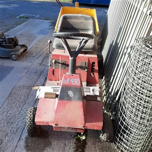 Ride On Lawn Mower with Trailer