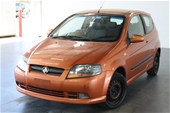 Unreserved 2005 Holden Barina TK Automatic Hatchback