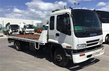 2006 Isuzu FRR 4 x 2 Tilt Tray Truck