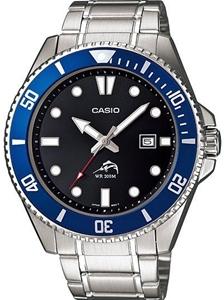 Buy Men S Blue Casio Duro 200 Diver S Watch Mdv106d 1a2v