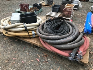 Quantity of Various Hose ad Fittings