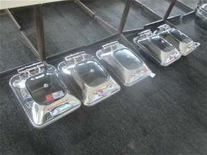 Qty 5 x Athena Induction Chafing Dishes