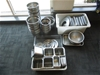 Qty of Stainless Steel Kitchen Items