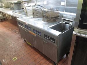 Frymaster 4 Bay Deep Fryer