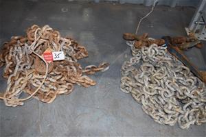 Lot of 2 Proofload Single Leg Chain Set