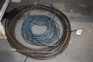 Lot of 2 Length of Wire Rope