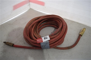 Welding Lead with Brass Connectors