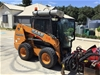 Case SR250 Skidsteer Loader with Trailer and Attachments