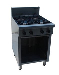 Cobra C6D Burner Gas Cooktops With Open