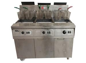 Frymaster Fm545Esd, 3 Pan Gas Deep Fryer