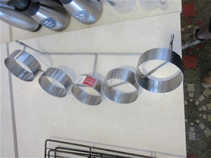 1 x Stainless Steel Container Holders