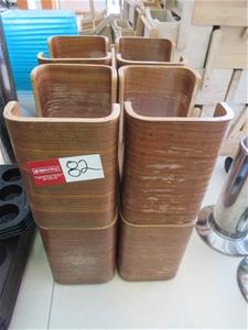8 x Tork Wooden Napkin Dispenser