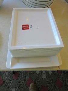 17 x Rectangle Serving Trays