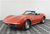 Unreserved 1970 Chevrolet Corvette Automatic Convertible