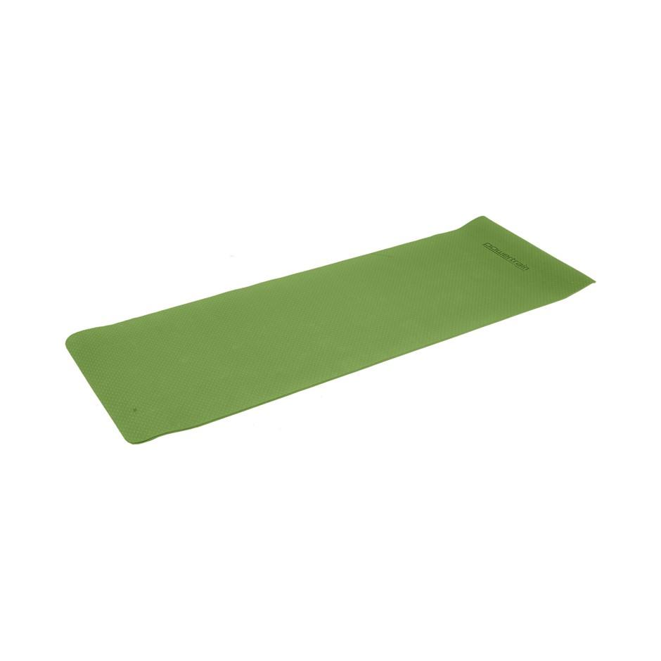 Powertrain Eco Friendly TPE Yoga Exercise Pilates Mat 6mm - Green