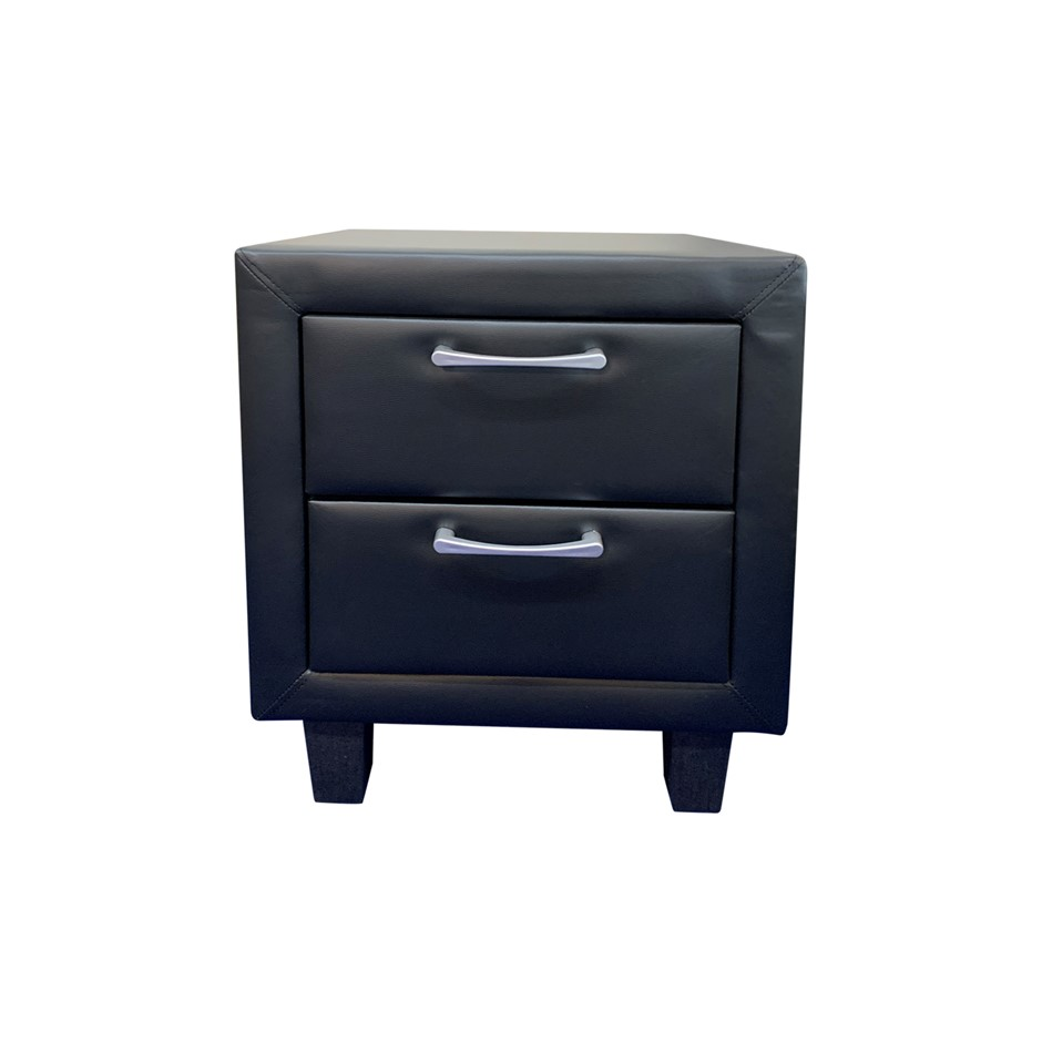 Attractive Black Colour for a Gorgeous Feel Albany Bedside Table