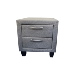 Bedside Table 2 drawers Night Stand Upho
