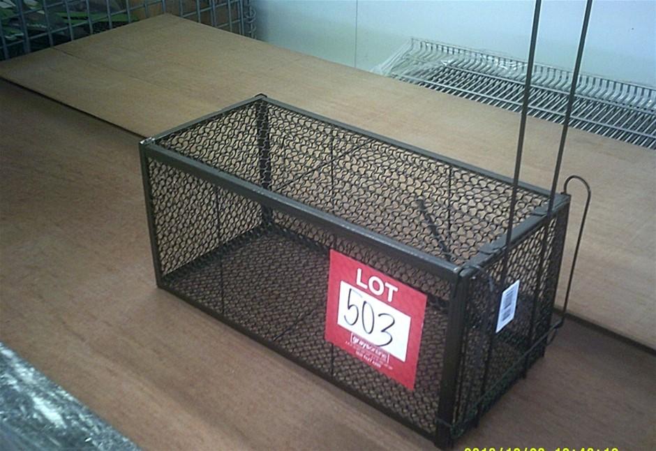 Possum/Rat Trap. 385mm long x 180mm high x 180mm wide. Brand New
