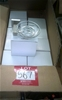 10 units of modern chrome/glass soap dish. New in boxes
