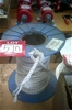Roll of approximately 30 metres of polyethelene silver rope. 10mm. New