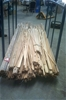 Approximately 2500 metres of hardwood dowels and mouldings.