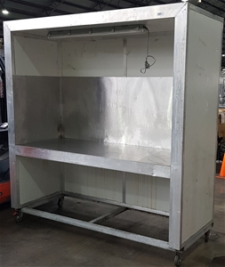 Mobile Enclosed Cold Storage Stainless S