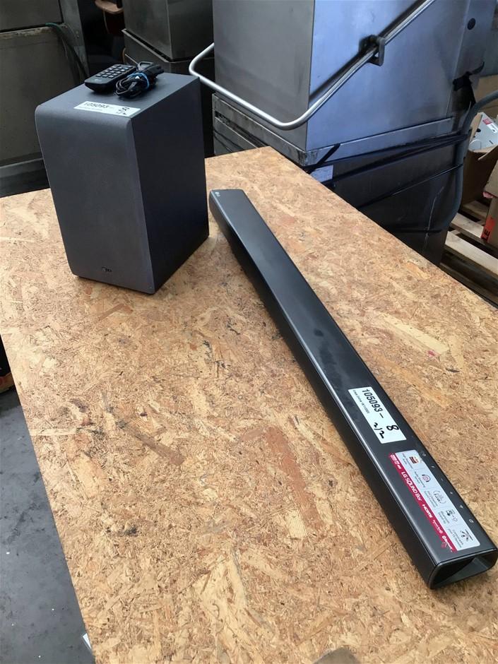 LG SJ6 320w 2.1 Wireless Sound Bar and Subwoofer