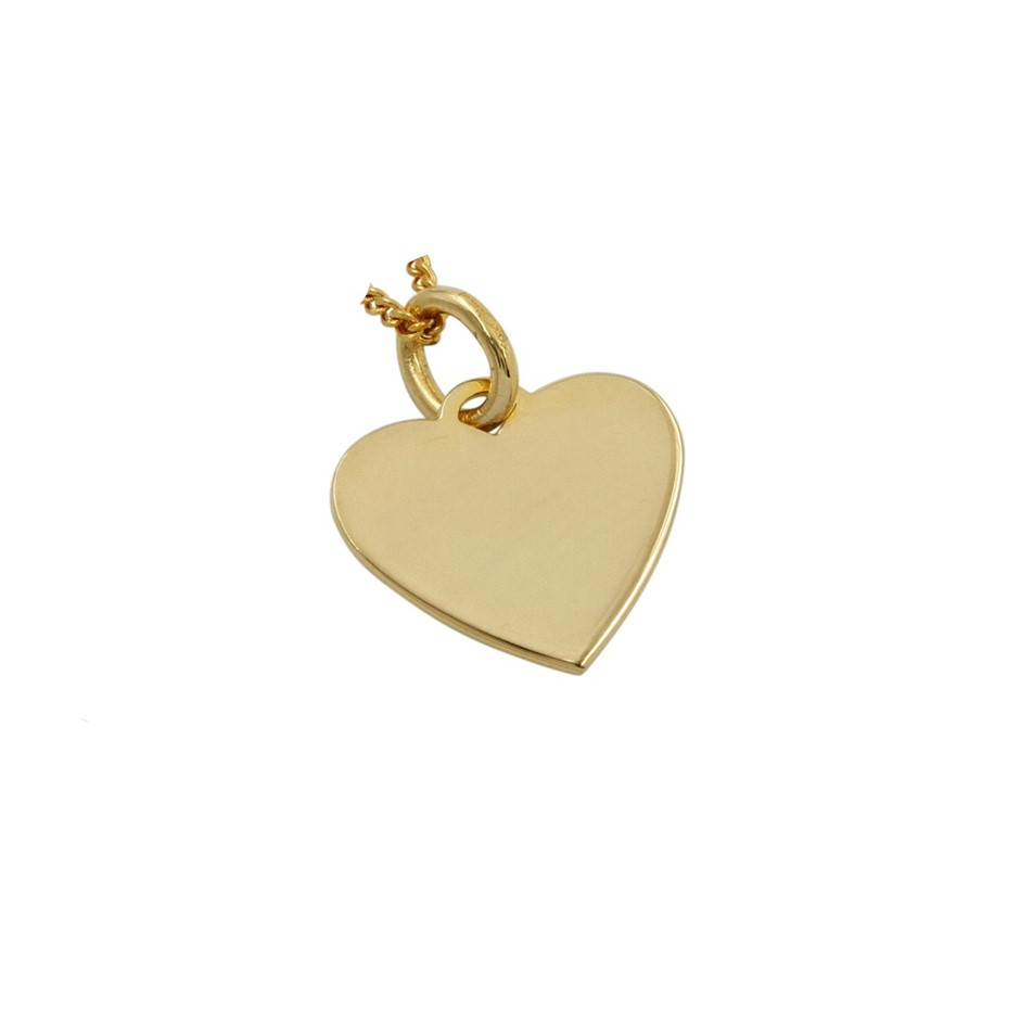 Thomas Sabo Yellow Gold Plated Heart Pendant.