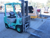 Forklift and Assorted Roadmaking Equipment - VIC Pickup