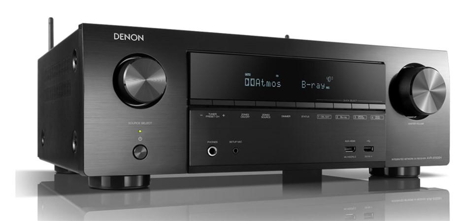 Denon AVR-X1500H 7.2 Ch. AV Receiver with Amazon Alexa Voice Control