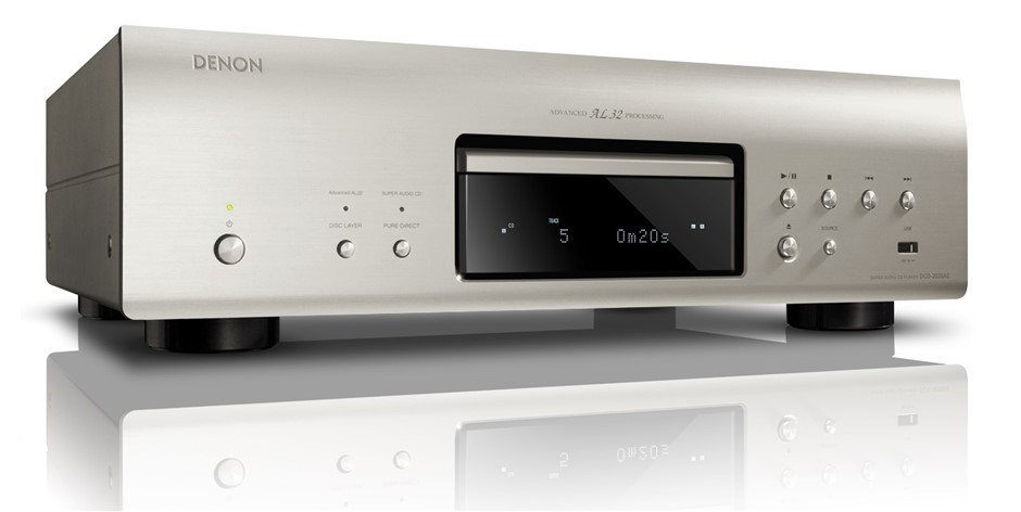 Denon DCD-2020AE Super Audio CD Player (Silver)