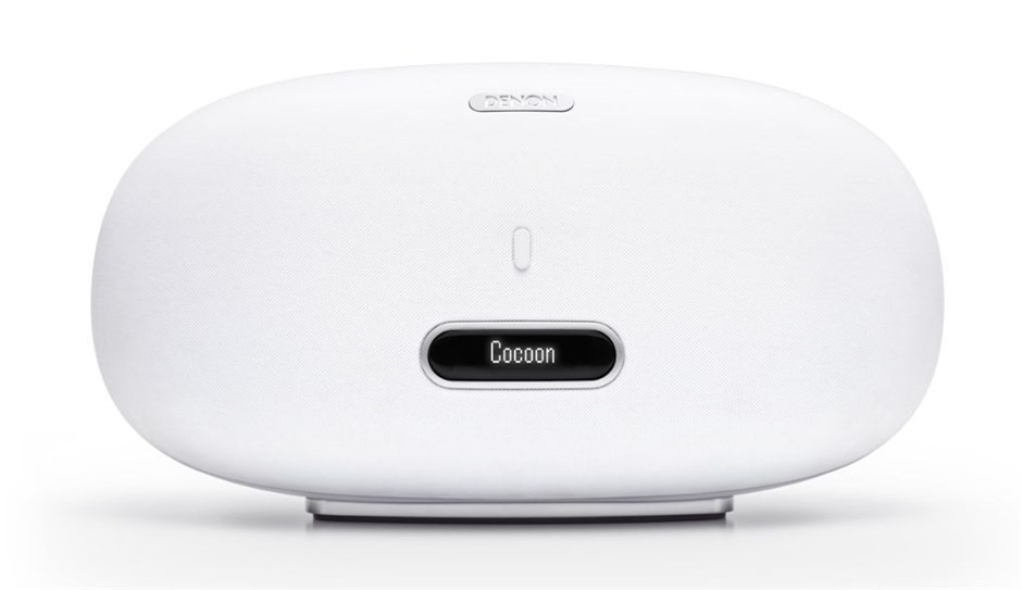 Denon Cocoon Home Wireless Music System with iPod Dock (White)
