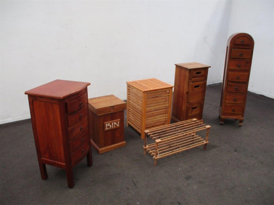 Pallet of Timber Furniture