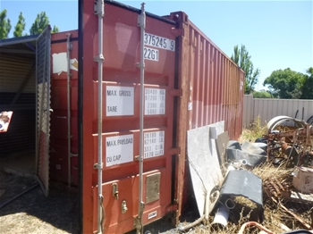 Shipping Containers & Custom Made Shed
