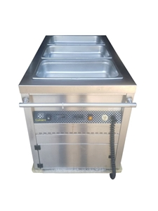 Culinarie 3 Large Stainless Steel Food M