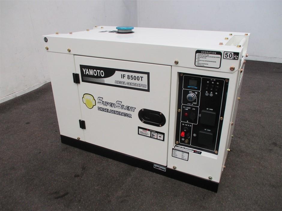 09/2020 Unused Yamoto IF8500T Diesel Generator