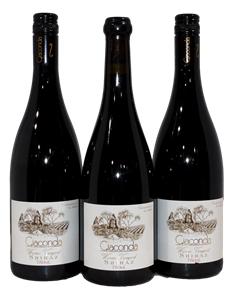 Giaconda Warner Vineyard Shiraz 2008 (3x