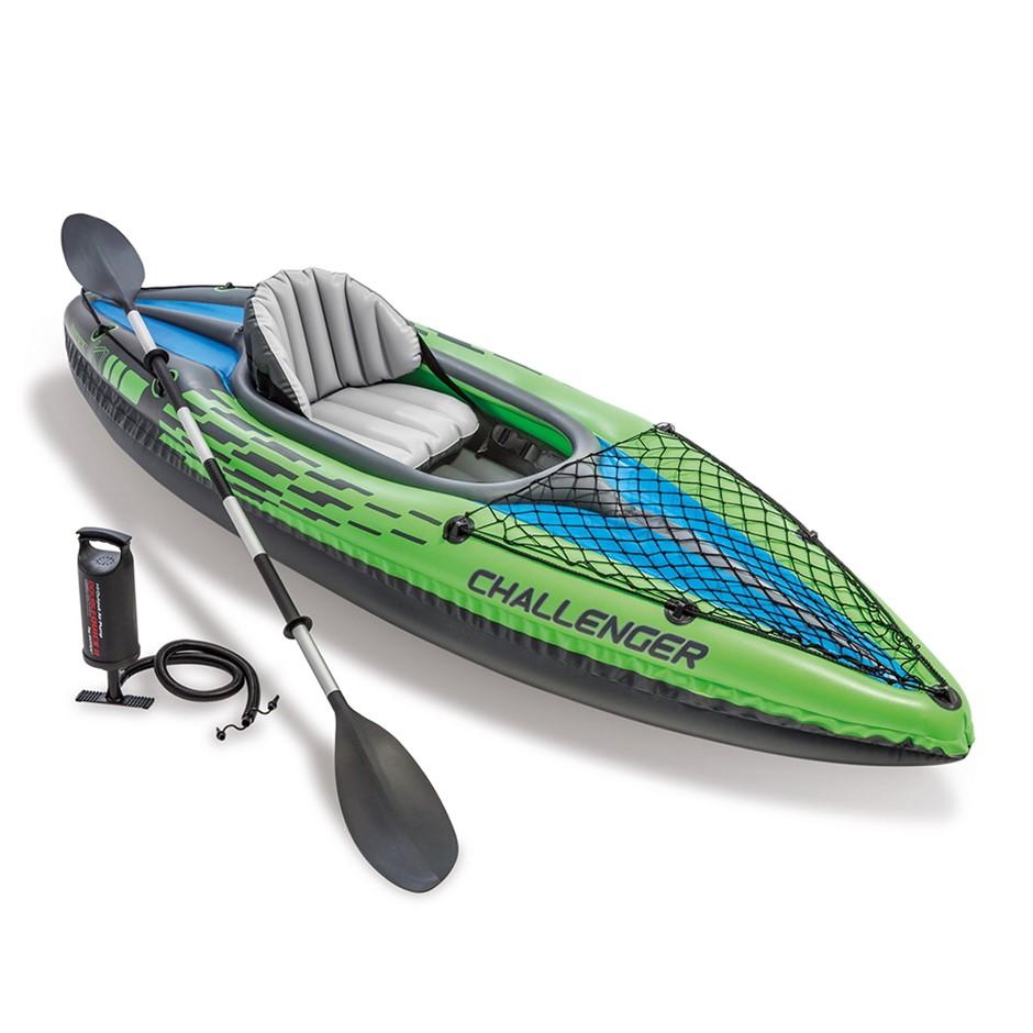Intex Challenger K1 Inflatable Kayak - 1 Seat