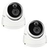 2PK Swann 5MP Super HD Thermal Sensing Dome IP Security Camera - NHD