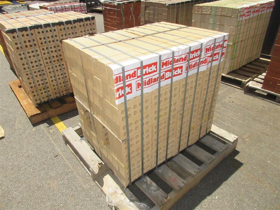 10 Packs of Standard Cream Mexi Bricks