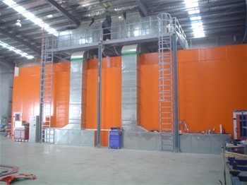 Truck Spray Booth/Oven