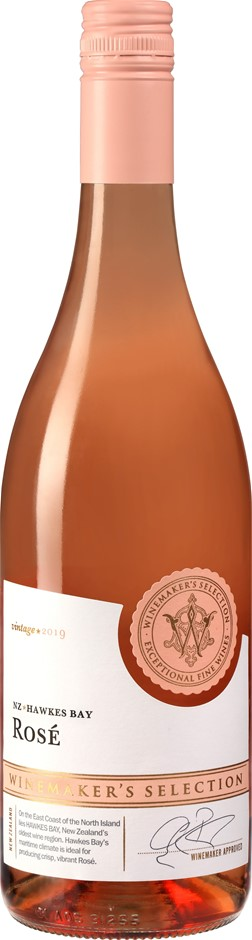 Winemakers Rose 2019 (6 x 750mL) Hawke's Bay, NZ