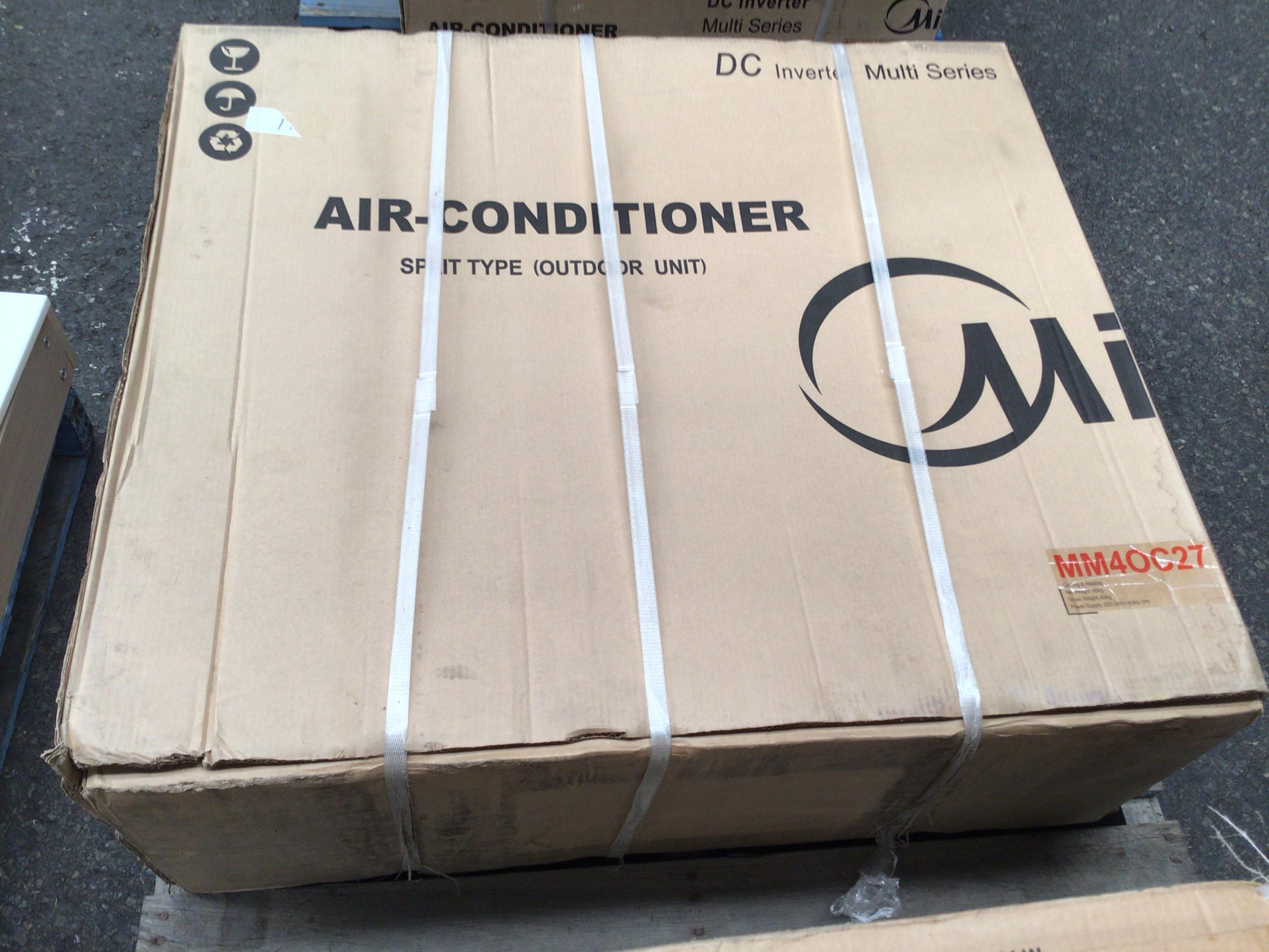 Midea MM40C27 multi-head air conditioning system.