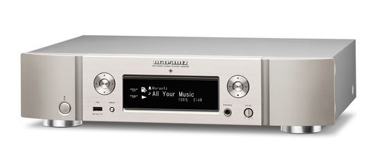 Marantz NA6005 Network Audio Player (Silver)