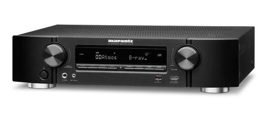 Marantz NR1608 Slim 7.2 AV Receiver with HEOS