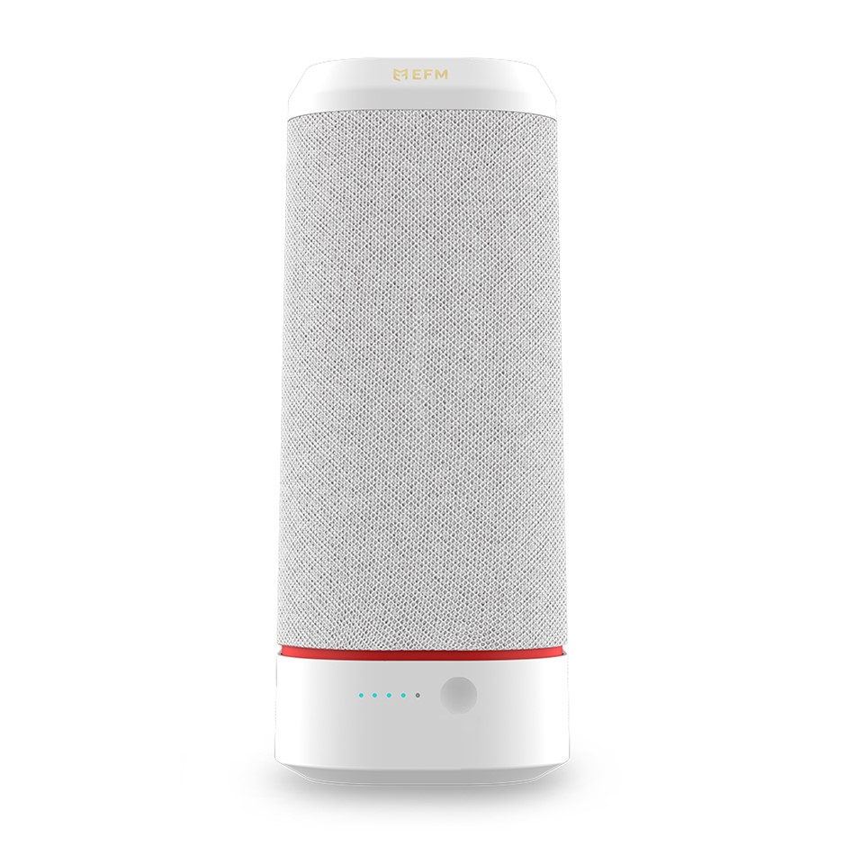 EFM Havana Bluetooth Speaker Premium 20W Speaker by EFM Chalk White